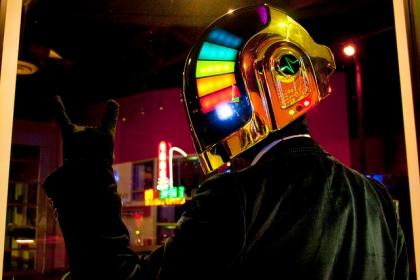 Capacete Daft Punk